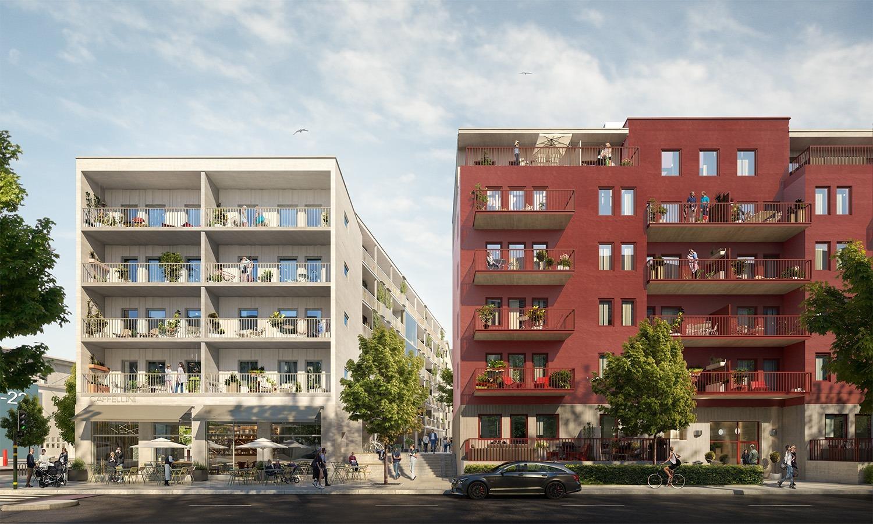 Bostäder för ett aktivt stadsliv